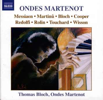 CD ondes Martenot Thomas Bloch