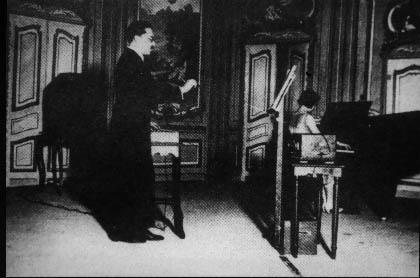 Maurice Martenot - Ginette Martenot  Paris opera in 1928
