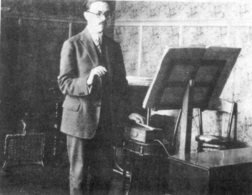 Maurice Martenot - ondes Martenot  1928