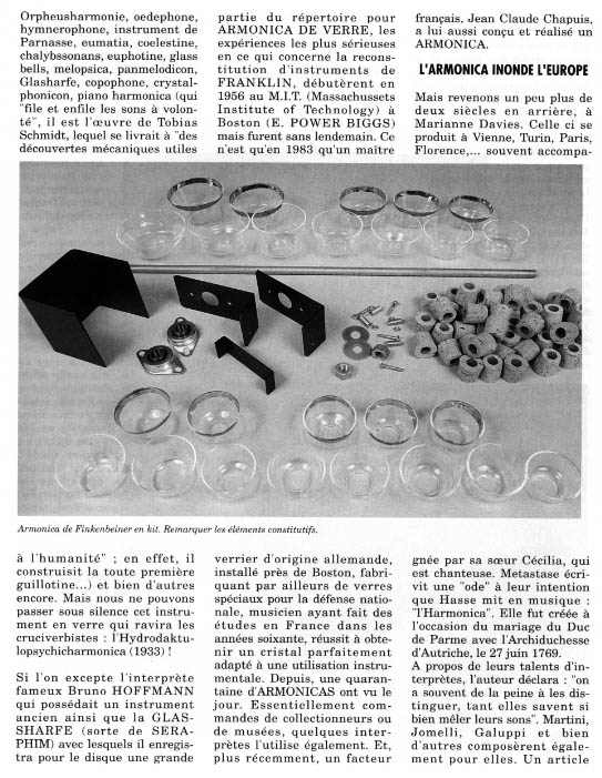 Le glassharmonica Glass4